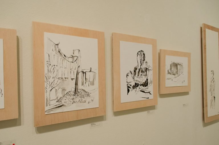 Documentation of artwork from Fragments