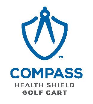 Golf Cart Health Shield V -- Matthew Hall