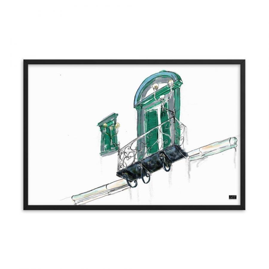 enhanced matte paper framed poster in black 24x36 transparent 604a2e9621810 -- Matthew Hall