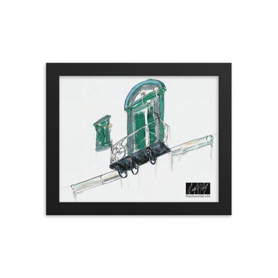 enhanced matte paper framed poster in black 8x10 transparent 6054003e95769 -- Matthew Hall