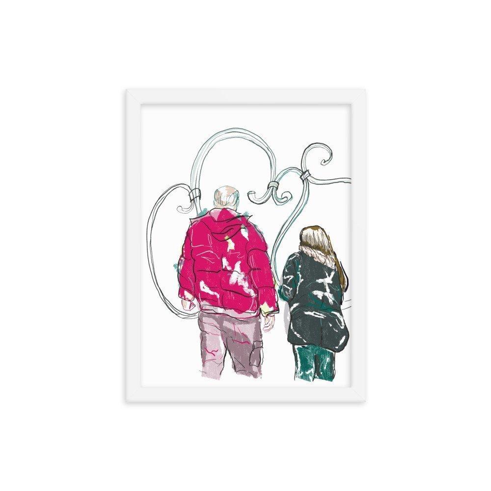 enhanced matte paper framed poster in white 12x16 transparent 604028e479c27 -- Matthew Hall