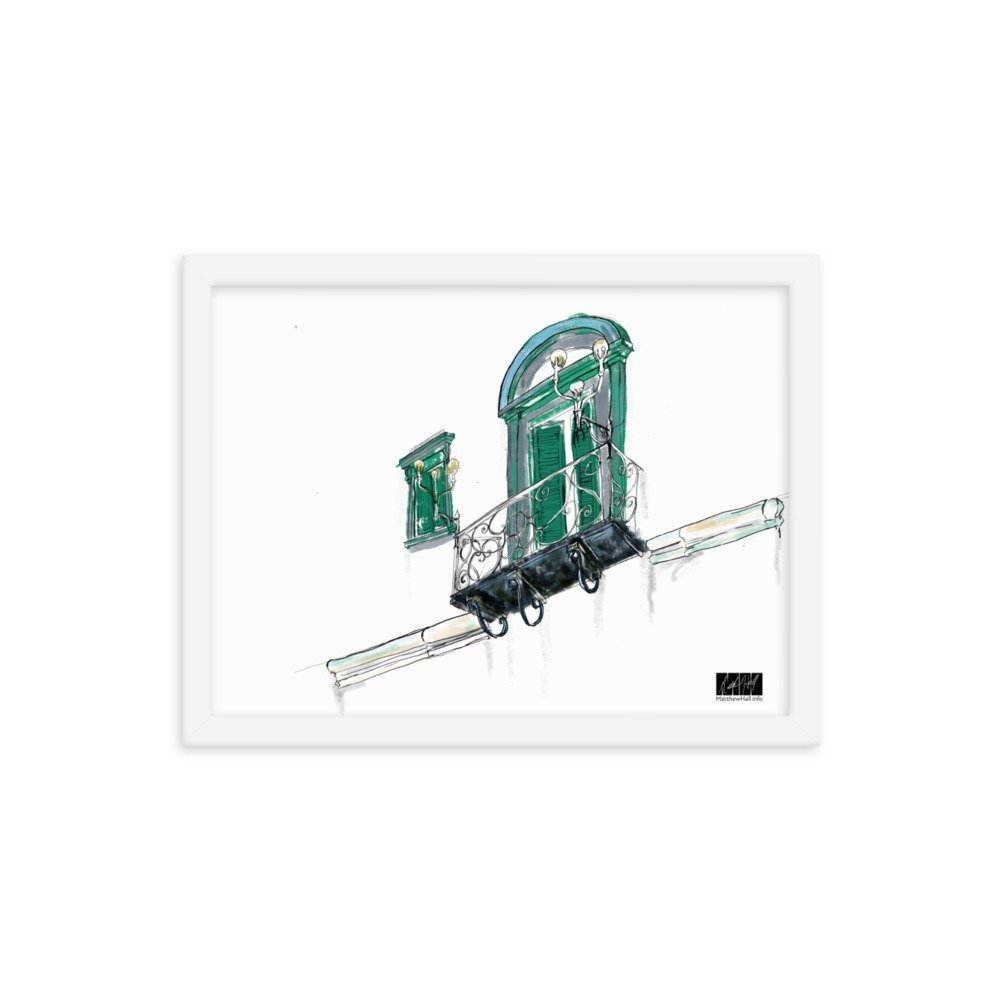 enhanced matte paper framed poster in white 12x16 transparent 605400f6120a2 -- Matthew Hall
