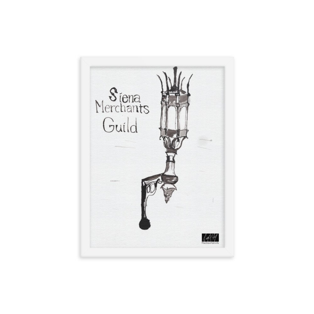 enhanced matte paper framed poster in white 12x16 transparent 606330bbcb692 -- Matthew Hall