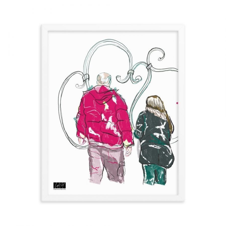 enhanced matte paper framed poster in white 16x20 transparent 6053fa54d317c -- Matthew Hall