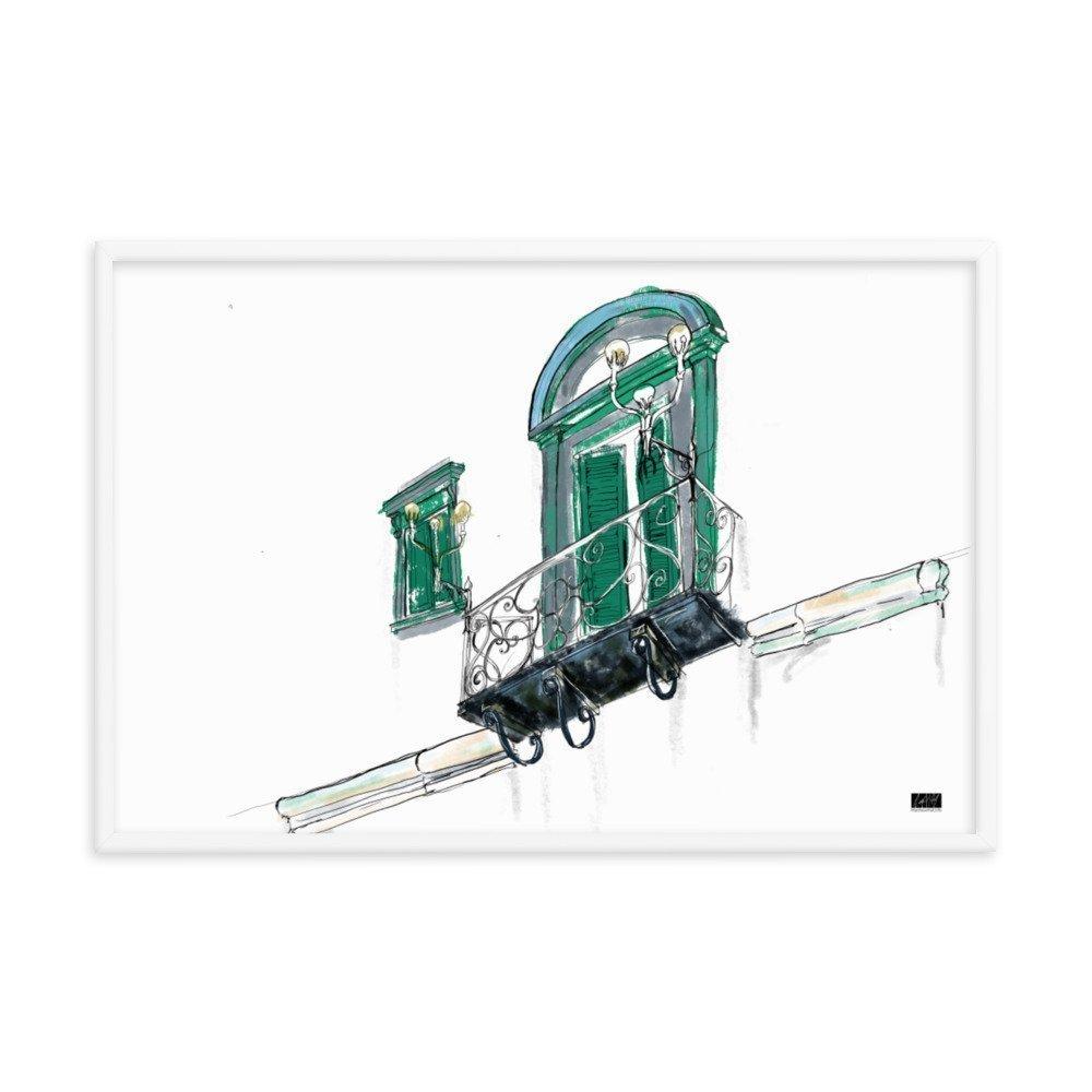 enhanced matte paper framed poster in white 24x36 transparent 604971d256d19 -- Matthew Hall