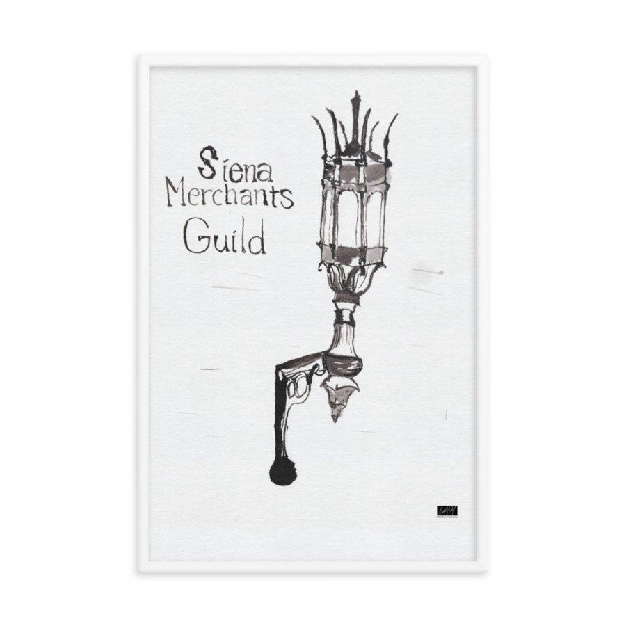 enhanced matte paper framed poster in white 24x36 transparent 6063356da7152 -- Matthew Hall