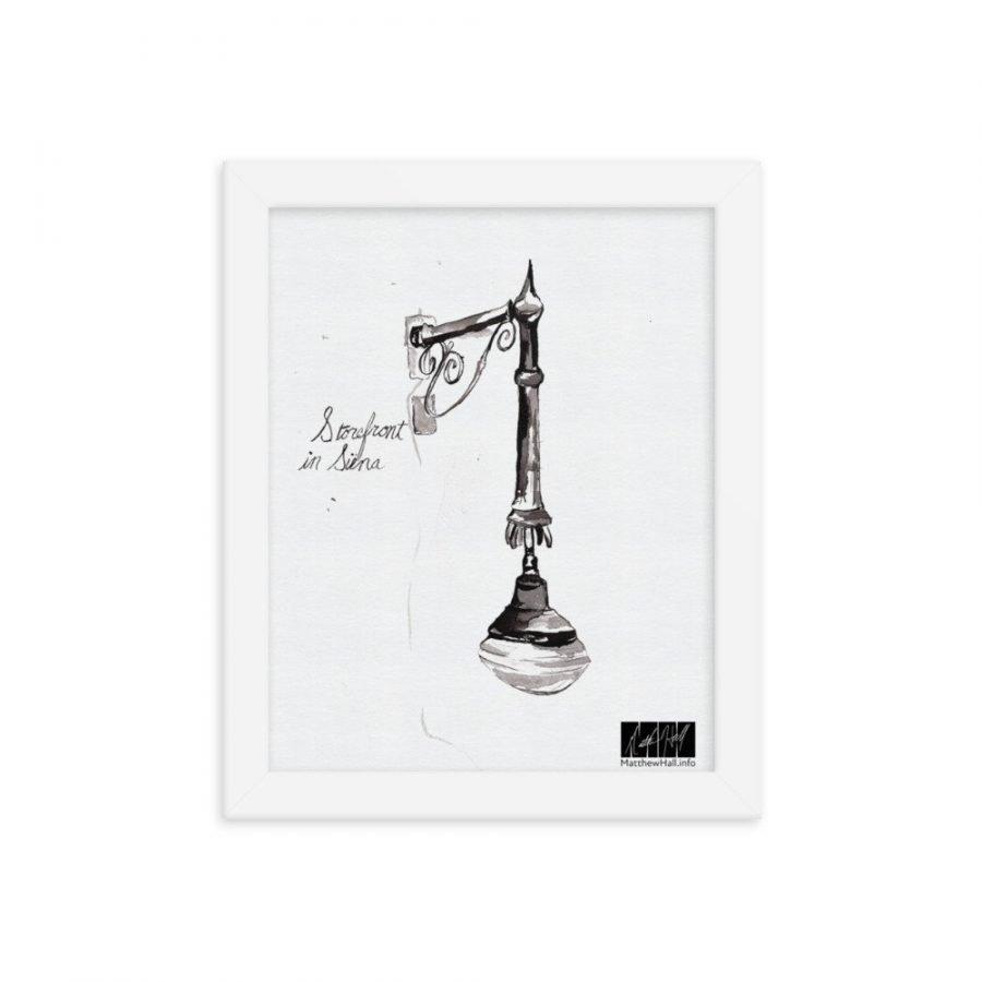 enhanced matte paper framed poster in white 8x10 transparent 6050f3d86eac8 -- Matthew Hall