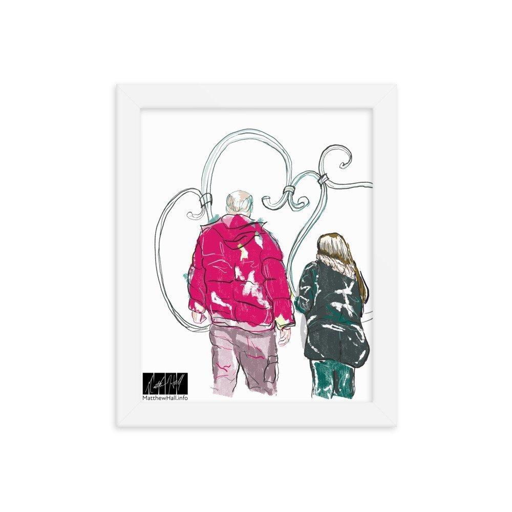 enhanced matte paper framed poster in white 8x10 transparent 6053f8e3961e1 -- Matthew Hall