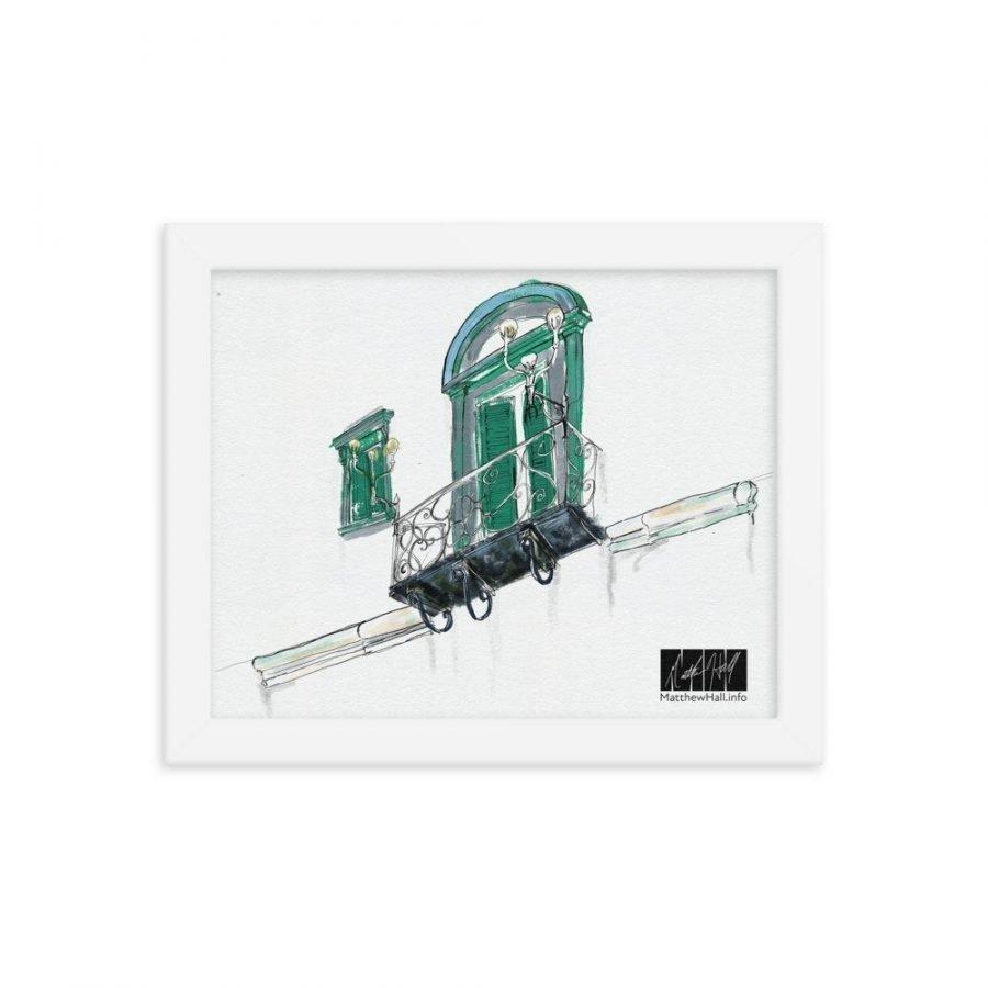 enhanced matte paper framed poster in white 8x10 transparent 60540061bec9c -- Matthew Hall
